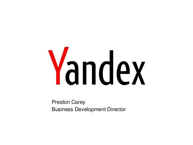 Preston Carey Business Development Director