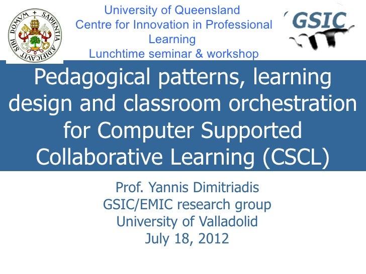 Yannis@brisbane cipl seminar_workshop_20120716