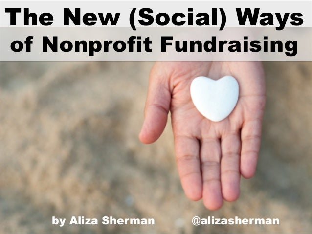 The New (Social) Ways of Fundraising