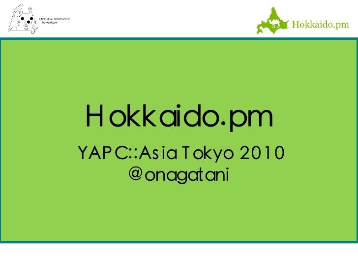 Hokkaido.pm