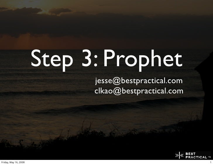 Prophet - A peer to peer replicated disconnected database