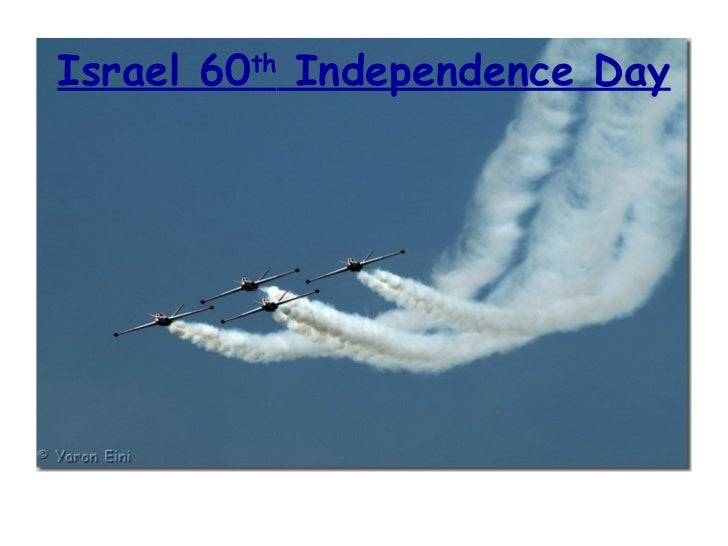 Israel 60 th  Independence Day