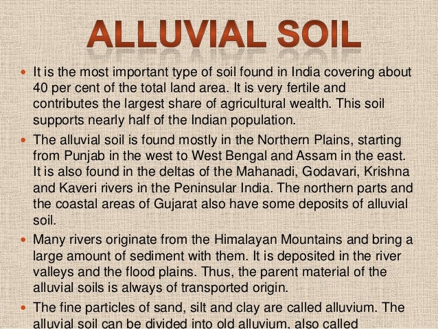 Different types of soil for Soil and its types