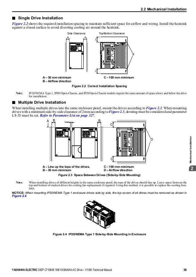 yaskawa ac drive v1000 technical manual