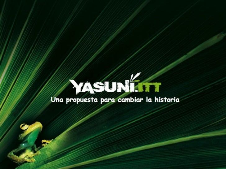 Yasuni ITT Initiative