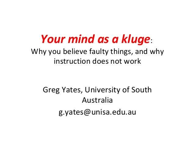 Yates kluge