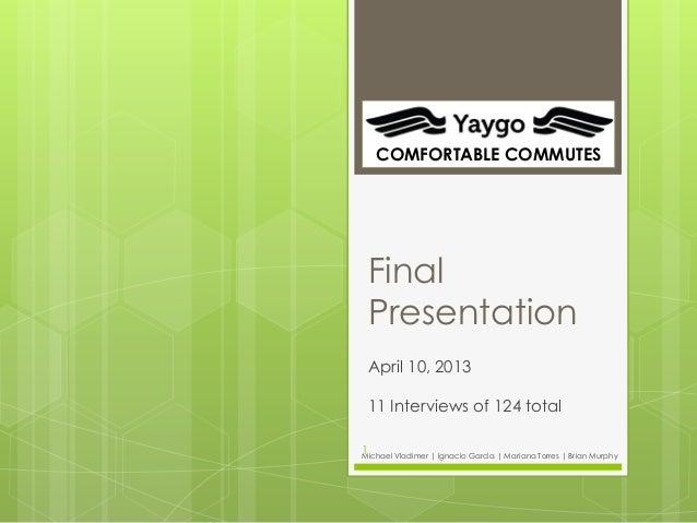 Yaygo final 2013 berkeley