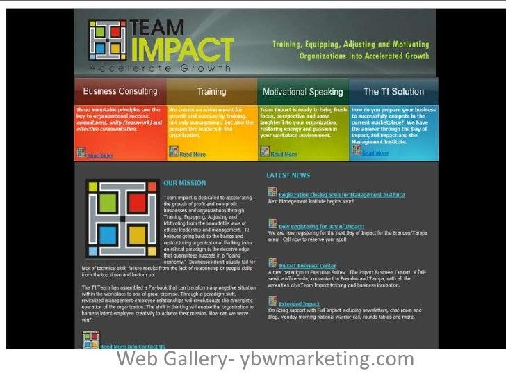 YBW Marketing Web Gallery