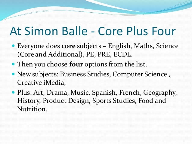 Can anyone tell me about my gcse options?