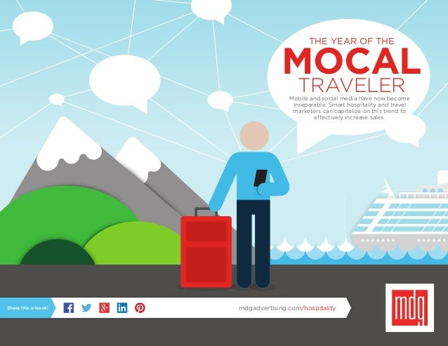 THE YEAR OF THE MOCALTRAVELERMobile and social media have now become inseparable. Smart hospitality and travel marketers c...