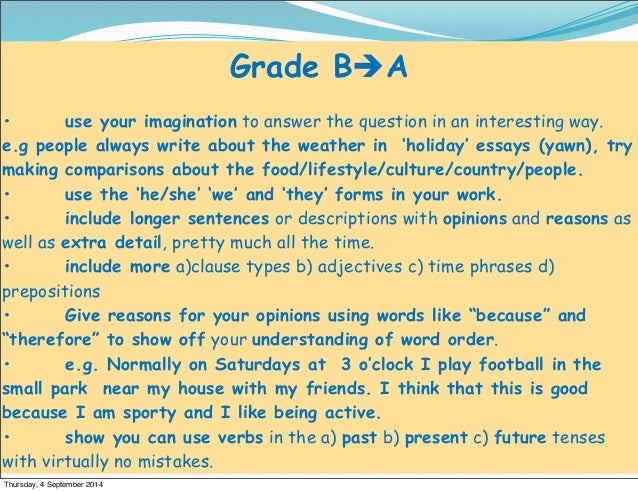essays french holidays Hi all, could you possibly give me a level and any corrections i might have to make (accents/sentence does't make sense) thanks bonjour, je m'appel.