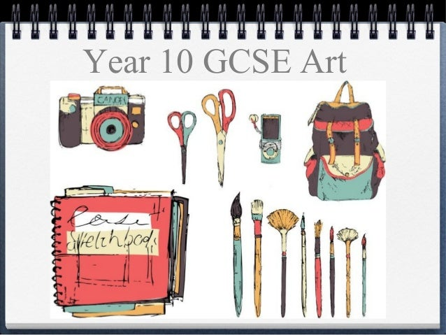 Where can I get examples of GCSE Art coursework?