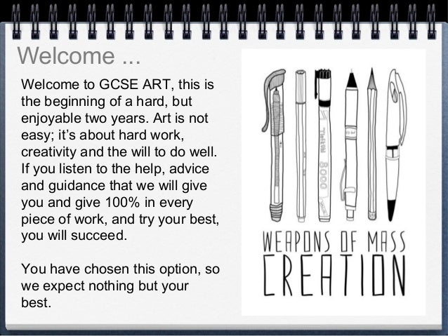 How good at art must you be to take it as a GCSE?