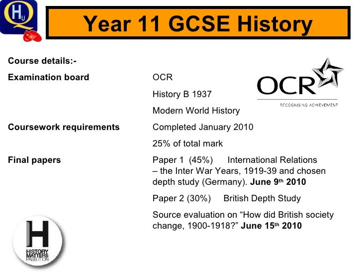 History gcse, shall i start revising in year 9?