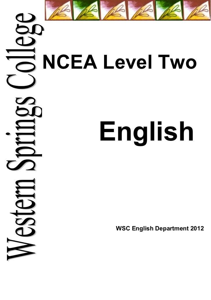 Year 12 coursebook 2012