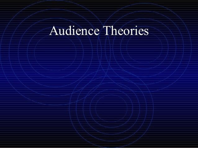 Year 13 media   audience theories