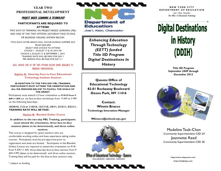 DDIH Yr 2 Brochure June 2010