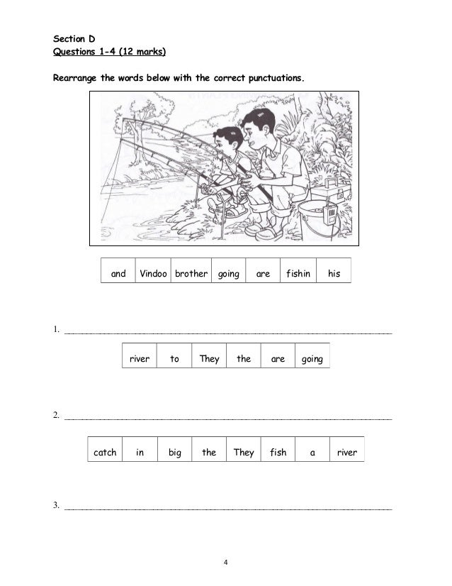Free english worksheets for year 3