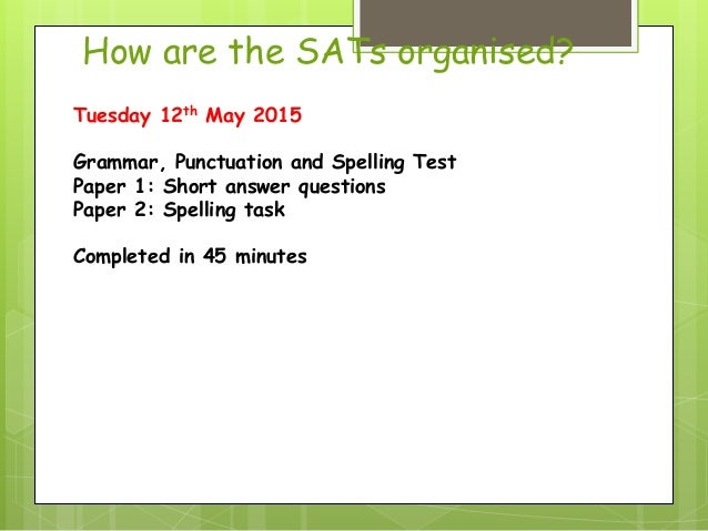 Level 6 english sats papers