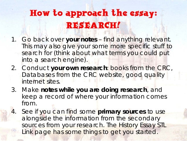 history extended essay topics The extended essay in history 1  a focus on the research question is maintained effectively throughout the essay with frequent linkage to the topic the .