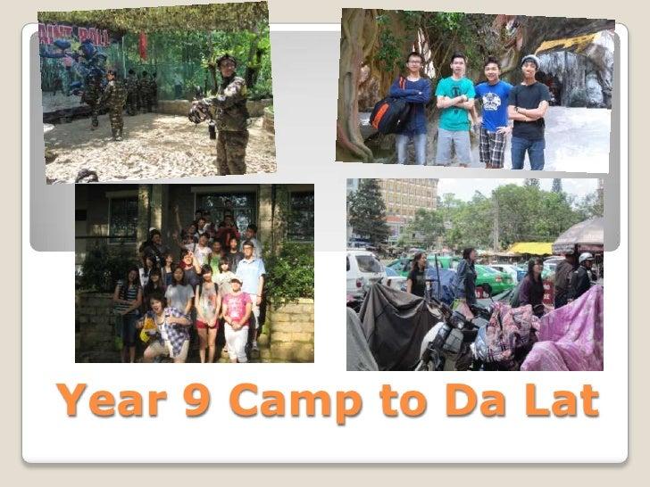 Year 9 Camp to Da Lat