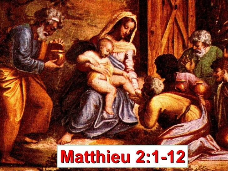 Matthieu 2:1-12
