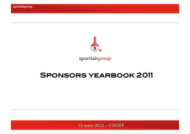 Sponsors yearbook 2011!     15 mars 2012 !                          Sponsors yearbook 2011!                               ...