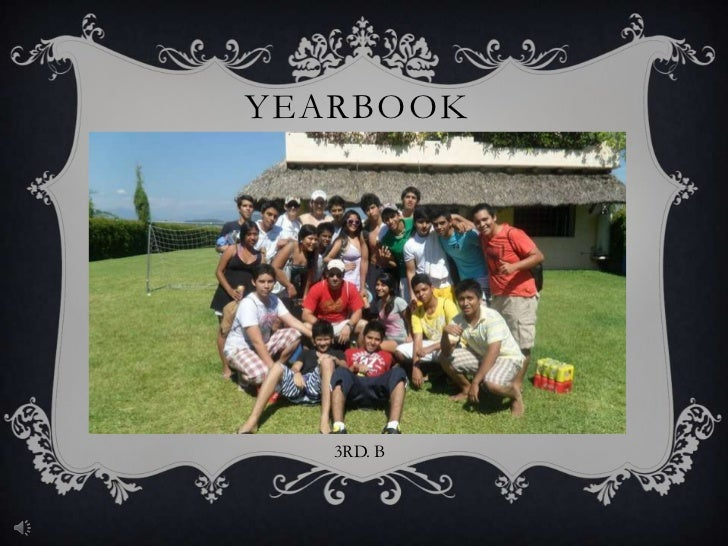YEARBOOK   3RD. B