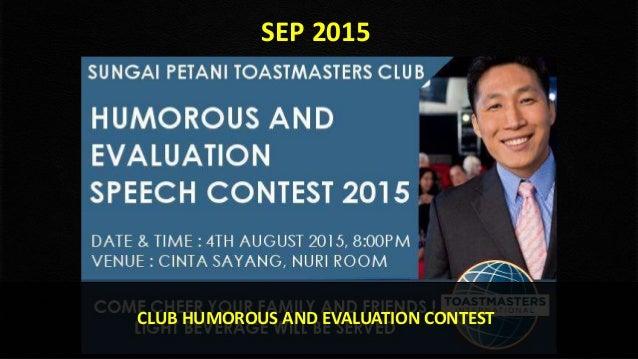 Toastmasters 4th speech