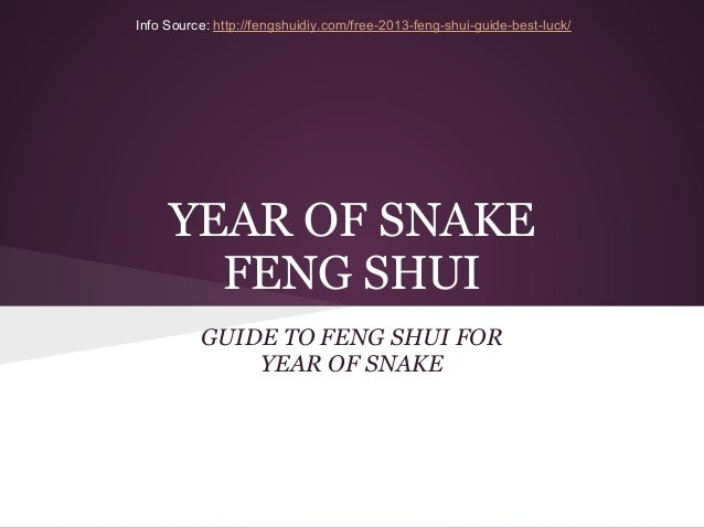 Year of Snake Feng Shui - Year of Snake worst direction