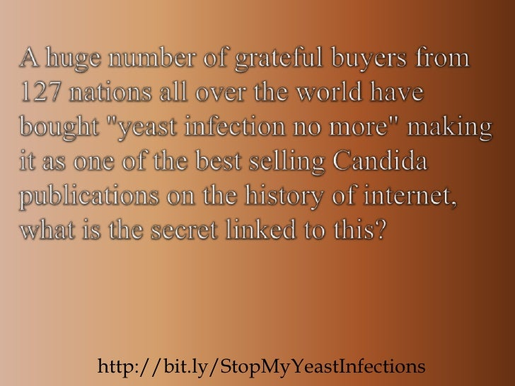 Yeast infection cure