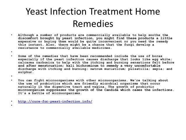 Relief vaginal home remedies yeast infection