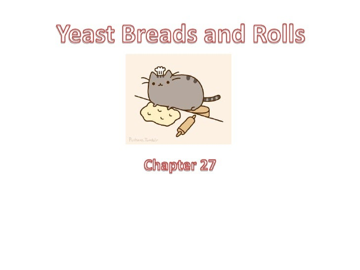 Chapter 27<br />Yeast Breads and Rolls<br />