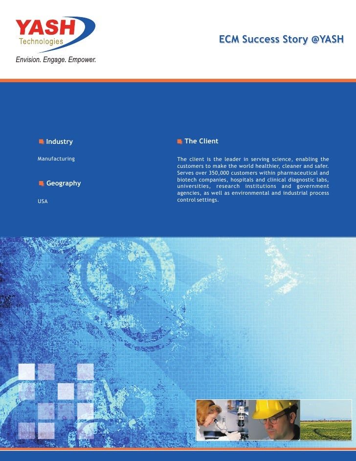 Enterprise Content Management (ECM) Success Story @ YASH