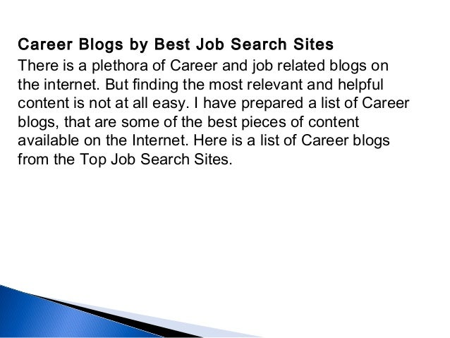 job searching sites