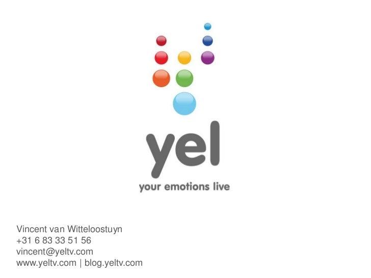 YEL - Your Emotions Live - SocialTV platform