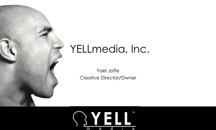 Yellmedia Capabilities Presentation