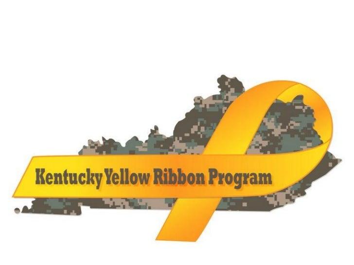 Yellow Ribbon Booklet