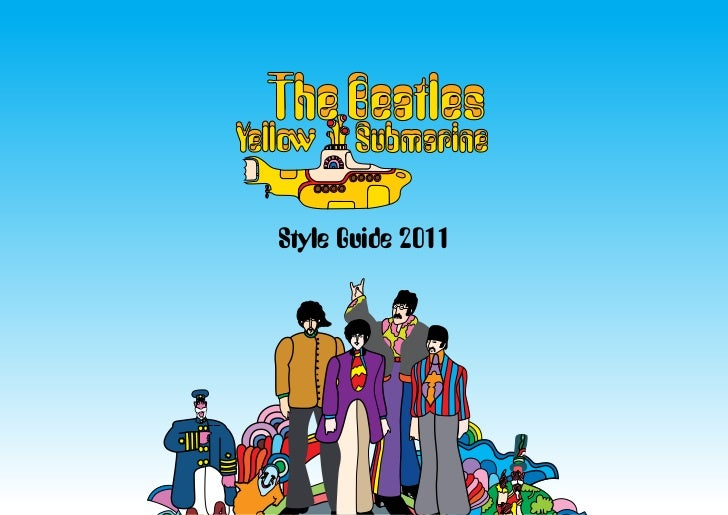 Style Guide 2011
