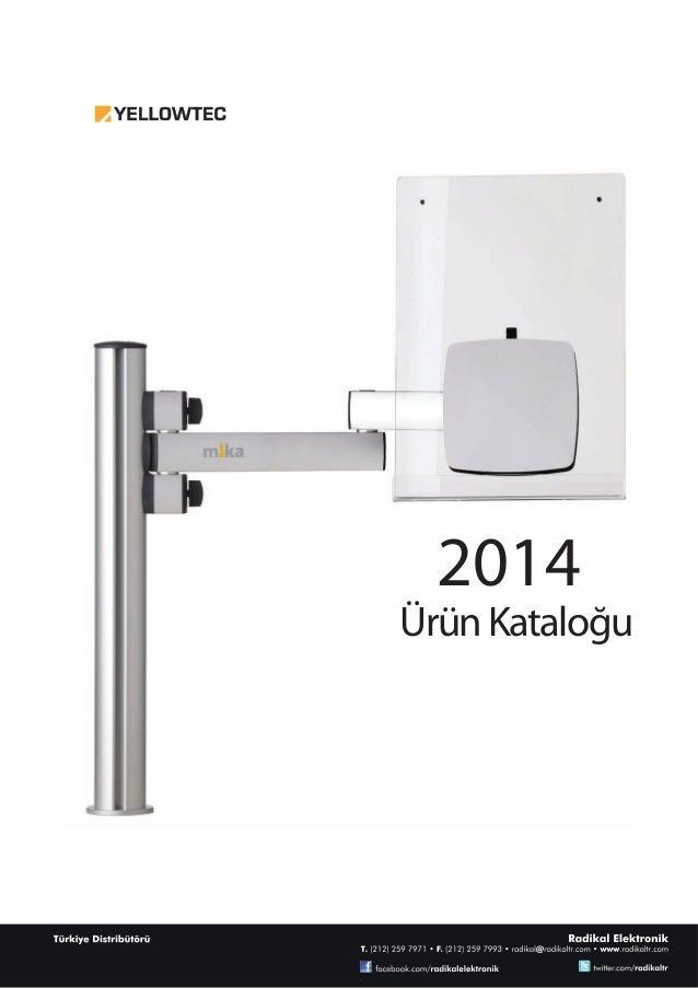 2014 Ürün Kataloğu