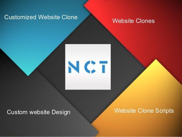 Customized Website Clone  Custom website Design  Website Clones  Website Clone Scripts