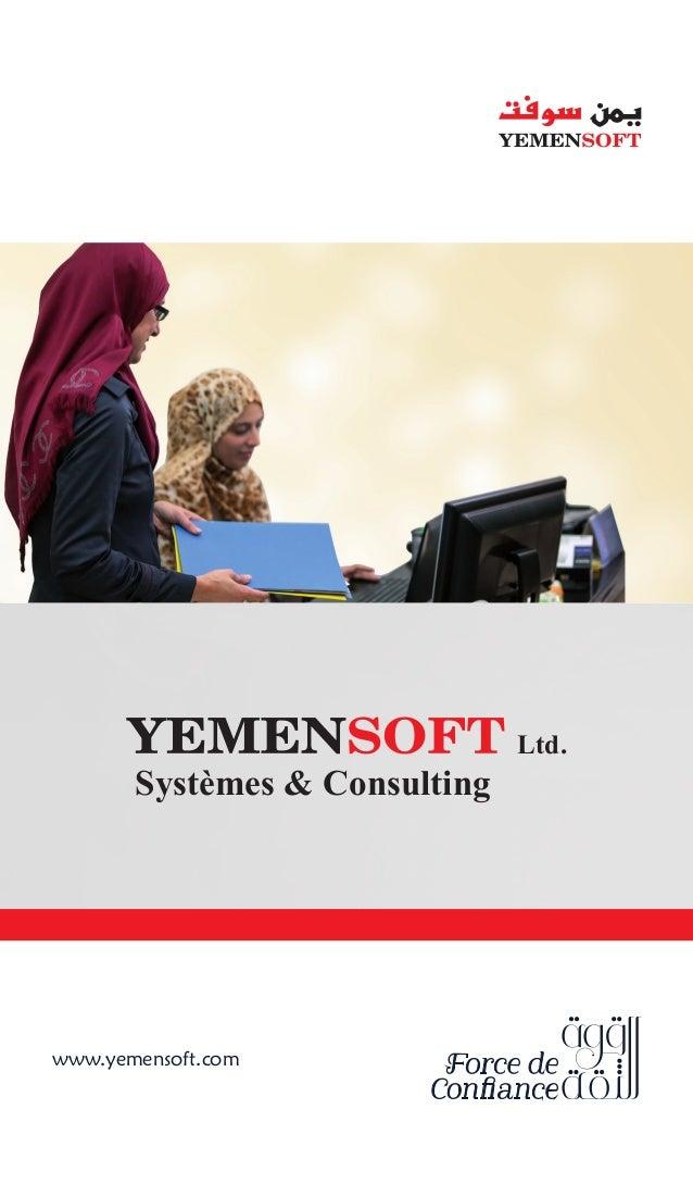 www.yemensoft.com Ltd. Systèmes & Consulting
