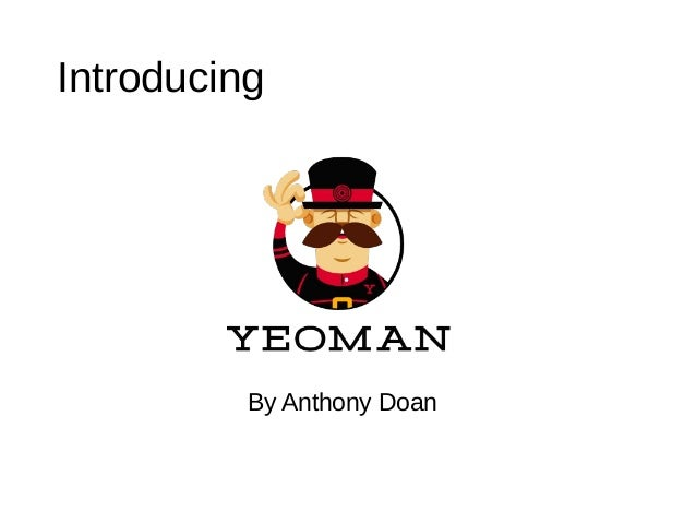 IntroducingBy Anthony Doan