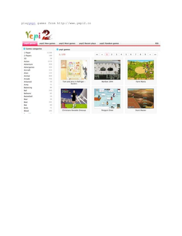 playyepi games from http://www.yepi2.co