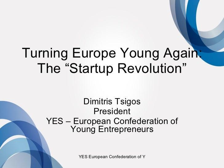 Startup Revolution for Europe