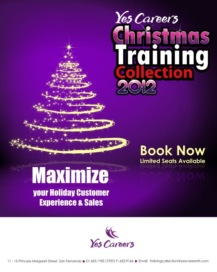 Yes careers training collection 2012