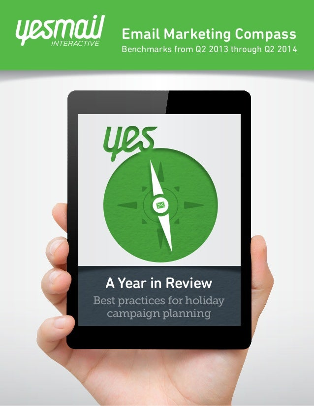 Email Marketing Compass: A Year in Review - Best Practices for Holiday Campaign Planning