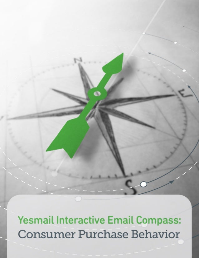 Yesmail's Email Marketing Compass: Consumer Purchase Behavior