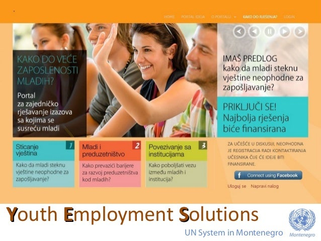 YYouth EEmployment SSolutions UN System in Montenegro