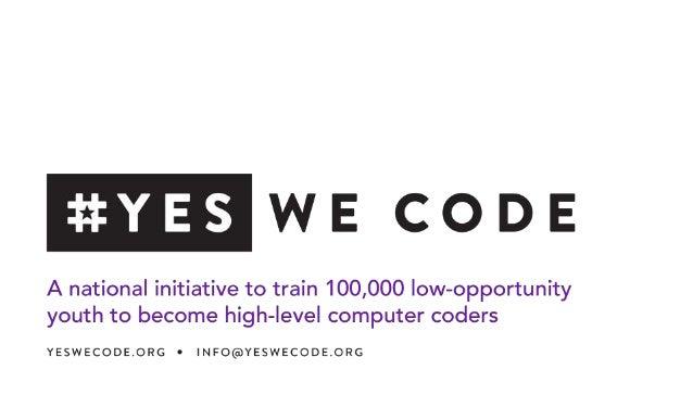 #YesWeCode Deck
